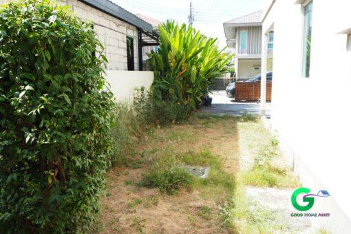 ขายบ้านเดี่ยว คณาสิริ ชัยพฤกษ์ พื้นที่ข้างตัวบ้าน สามารถต่อเติมห้องได้
