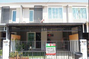 พฤกษาวิลล์ 88 ศาลายา ทาวน์เฮ้าส์มือสอง บ้านสวยสภาพใหม่ บรรยากาศน่าอยู่