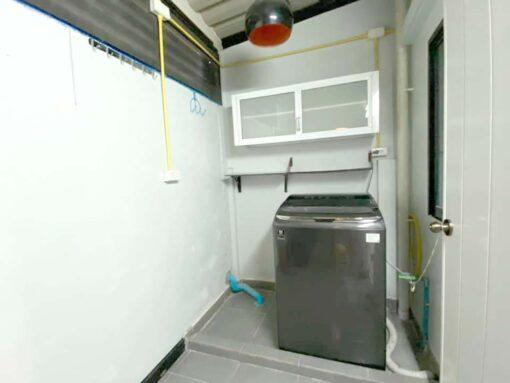 สามพรานวิลล์ บ้านมือสอง ต่อเติมห้องครัวแล้ว