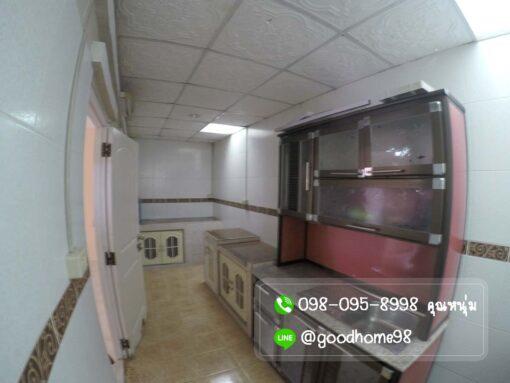บ้านมือสอง พฤกษา 31 ศาลายา 3 ห้องนอน 2 ห้องน้ำ ต่อเติมห้องครัว