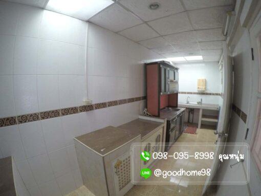 บ้านมือสอง พฤกษา 31 ศาลายา ต่อเติมห้องครัว เคาเตอร์บิ้วอิน ซิ้งค์ล้างจาน