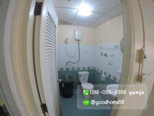 บ้านมือสอง พฤกษา 31 ศาลายา ห้องน้ำชั้นล่าง พร้อมเครื่องทำน้ำอุ่น