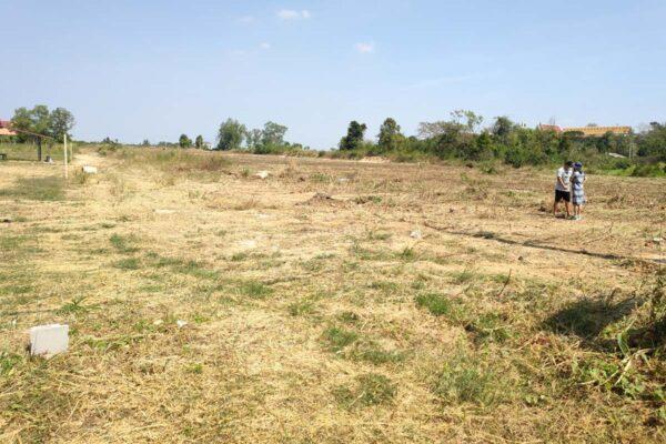 ขายที่ดิน หัวหิน ติดถนนใกล้แหล่งชุมชน ที่ดินถมแล้ว 13 ไร่