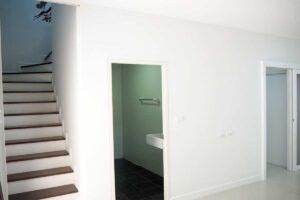 บ้านฟ้ากรีนเนอรี่ ปิ่นเกล้า-สาย 5 ทาวน์เฮ้าส์มือสอง ศาลายา ห้องน้ำชั้นล่าง