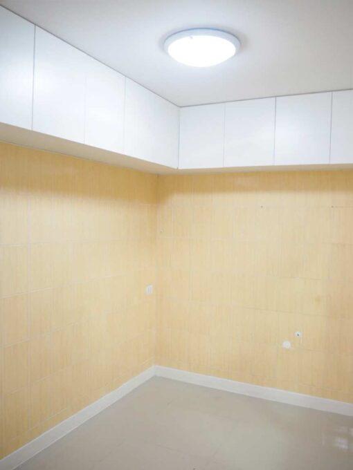 บ้านฟ้ากรีนเนอรี่ ปิ่นเกล้า-สาย 5 ทาวน์เฮ้าส์มือสอง ศาลายา บิ้วอินตู้ลอยเก็บของในครัว