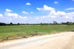 ขายที่ดิน สองพี่น้อง สุพรรณบุรี 21 ไร่ ใกล้แหล่งชุมชน ตลาดสดบางลี่