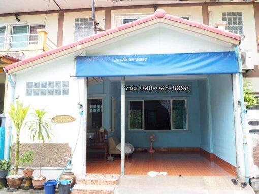 ขายบ้าน สามพราน ซอยหมอศรี ขายทาวน์เฮ้าส์ ต่อเติมห้องนั่งเล่นหน้าบ้าน