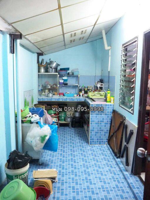 ขายบ้าน สามพราน ซอยหมอศรี ขายทาวน์เฮ้าส์ ต่อเติมครัวแล้ว