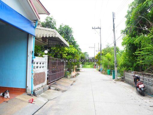 ขายบ้าน สามพราน ซอยหมอศรี ถนนซอยหน้าบ้าน