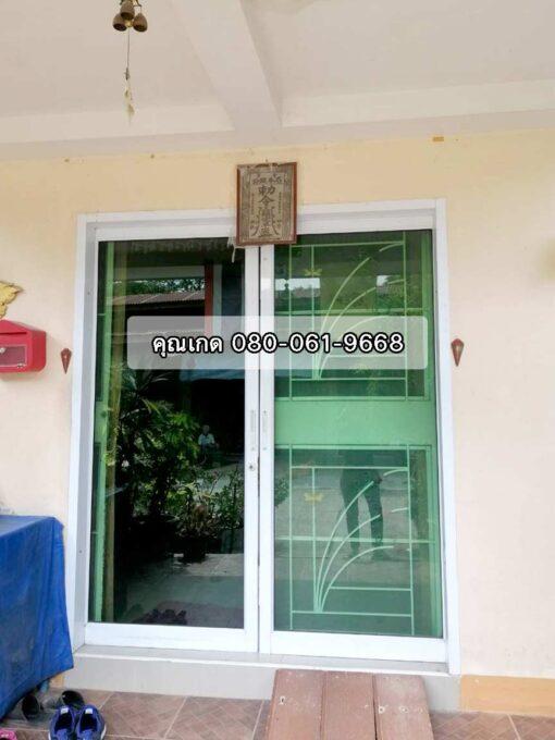 ขายบ้าน อู่ทอง สุพรรณบุรี บ้านมือสอง ชั้นเดียว 24 ตรว บ้านพร้อมอยู่ ใกล้ตลาด