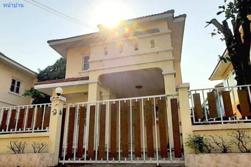บ้านเดี่ยวให้เช่า พระราม 2 หมู่บ้านวิเศษสุขนคร 19 ซอยวัดพันท้ายนรสิงห์ บ้านเช่าราคาถูก
