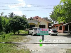 ขายบ้านพร้อมที่ดิน สุพรรณบุรี 300 ตรว. บ้านเดี่ยวติดถนน