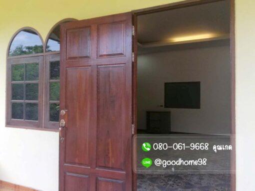 ขายบ้านพร้อมที่ดิน สุพรรณบุรี 300 ตรว. บ้านเดี่ยวติดถนน บ้านพร้อมอยู่