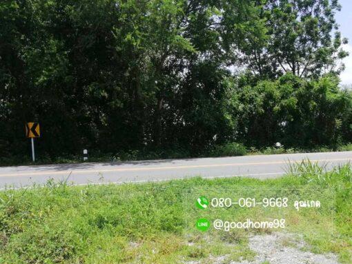 ขายบ้านพร้อมที่ดิน สุพรรณบุรี 300 ตรว. บ้านเดี่ยวมือสอง ที่ดินติดถนนทางหลวง