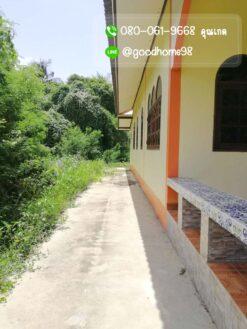 ขายบ้านพร้อมที่ดิน สุพรรณบุรี 300 ตรว. บ้านเดี่ยวมือสอง ข้างบนเทพื้นปูน