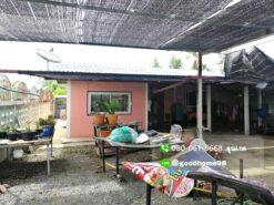 ขายบ้านพร้อมที่ดิน สุพรรณบุรี อู่ทอง 194.5 ตรว. ใกล้ถนนมาลัยแมน หน้าบ้านมีพื้นที่ปลูกต้นไม้