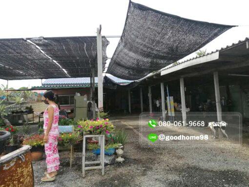 ขายบ้านพร้อมที่ดิน สุพรรณบุรี อู่ทอง 194.5 ตรว. ใกล้ถนนมาลัยแมน หน้าบ้านมีพื้นที่ปลูกต้นไม้ ทำหลังคาหน้าบ้าน
