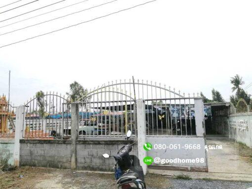 ขายบ้านพร้อมที่ดิน สุพรรณบุรี อู่ทอง 194.5 ตรว. ใกล้ถนนมาลัยแมน หน้าบ้านกว้างประมาณ 14 เมตร ติดถนน