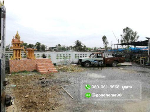 ขายบ้านพร้อมที่ดิน สุพรรณบุรี อู่ทอง 194.5 ตรว. ใกล้ถนนมาลัยแมน หน้าบ้านเทหินกรวด