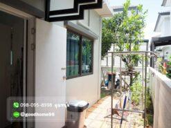 เดอะบาลานซ์ ปิ่นเกล้า-สาย 5 บ้านแฝดมือสอง ต่อเติมหลังคาหลังบ้าน
