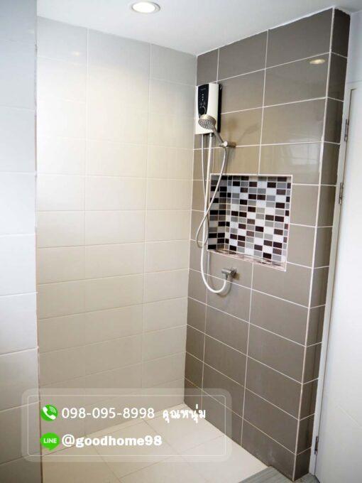 เดอะบาลานซ์ ศาลายา บ้านเดี่ยวมือสอง ห้องนอน Master Bedroom พร้อมเครื่องทำน้ำอุ่น