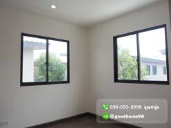 Natura Trend ปิ่นเกล้า-สาย5 บ้านแฝด สาย 5 หลังริม ห้องนอนริม มีหน้าต่างเปิดได้ทั้ง 2 ด้าน ระบายอากาศได้ดี