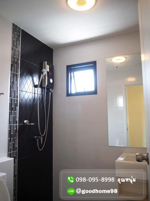 Natura Trend ปิ่นเกล้า-สาย5 บ้านแฝด สาย 5 หลังริม ห้องน้ำพร้อมเครื่องทำน้ำอุ่น
